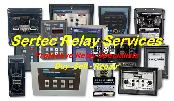Sertec Protective Relay Services - buy, sell, repair
